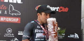Mario de Elias fue tercero