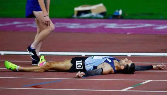 Federico Bruno finalizó en el puesto 4 en los 5000 metros llanos