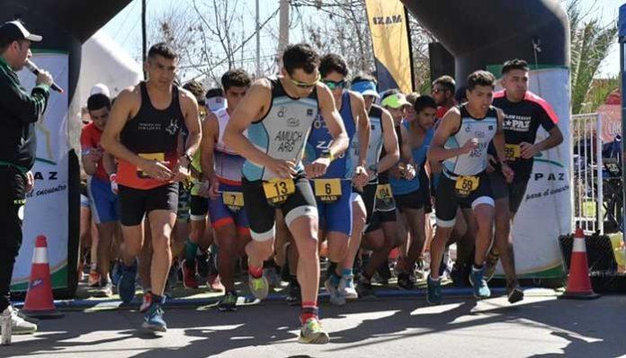 Nueva fecha del Campeonato de Duatlón en La Paz, Mendoza