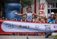 Triunfo de Ibrahim Alucin en el Triatlón de La Paz